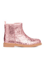 Glittery boots - Pink -  | H&M 1