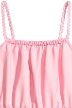 Sleeveless dress - Pink - Kids | H&M CN 3