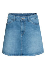 Short skirt - Denim blue - Ladies | H&M 2