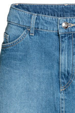 Short skirt - Denim blue - Ladies | H&M 4