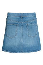 Short skirt - Denim blue - Ladies | H&M 3