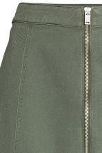 Short skirt - Khaki green - Ladies | H&M CA 3