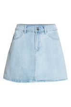 短裙 - Light denim blue - Ladies | H&M 2