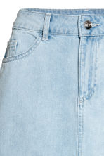 短裙 - Light denim blue - Ladies | H&M 3