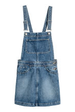 Denim salopettejurk - Denimblauw - DAMES | H&M NL 2