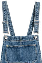 Denim salopettejurk - Denimblauw - DAMES | H&M NL 4