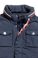 Padded jacket - Dark blue -  | H&M 4