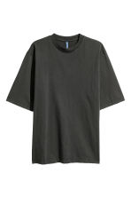 Oversized T-shirt - Black - Men | H&M 2