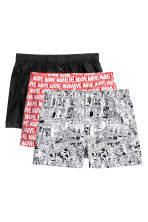 3-pack boxer shorts - Red/Marvel Comics - Men | H&M 2