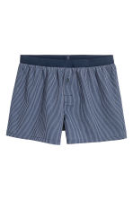 3-pack boxer shorts - Dark blue/Striped - Men | H&M 3