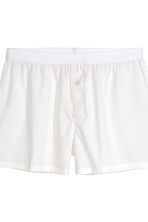 3-pack boxer shorts - Khaki green/White - Men | H&M CN 4