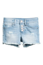 Denim shorts - Light denim blue -  | H&M CA 2