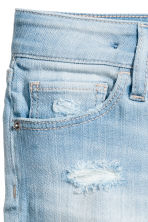 Denim shorts - Light denim blue -  | H&M CA 4