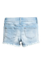 Denim shorts - Light denim blue - Kids | H&M CN 3