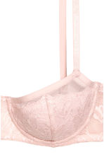 Lace balconette bra - Light pink - Ladies | H&M 3