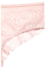 Lace hipster briefs - Light pink - Ladies | H&M 3