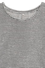 Fine-knit top - White/Striped - Ladies | H&M 3