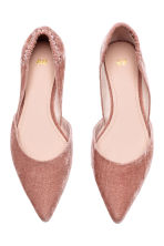 Pointed flats - Vintage pink - Ladies | H&M 2