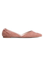Pointed flats - Vintage pink - Ladies | H&M 1