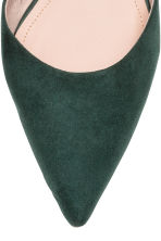 Pointed flats - Dark green - Ladies | H&M 3