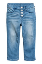Pantalon capri en denim - Bleu denim - ENFANT | H&M CH 2