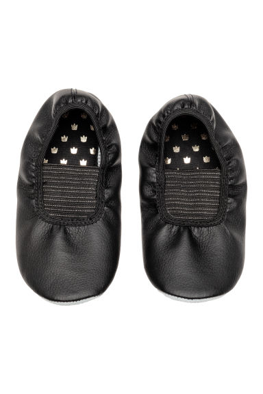 Dance shoes with elastic - Black -  | H&M 1