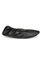 Dance shoes with elastic - Black -  | H&M 2