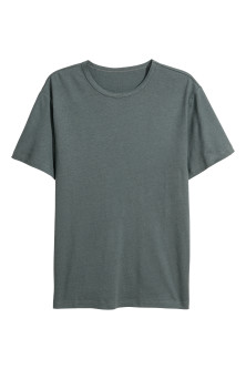 T-shirt in misto lino