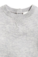 Silk-blend jumper - Grey - Kids | H&M 2