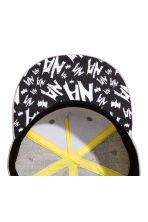 Cap with appliqué - Grey/Batman - Kids | H&M CA 2