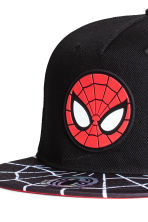 Cap with appliqué - Black/Spiderman - Kids | H&M 4