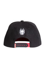 Cap with appliqué - Black/Spiderman -  | H&M 2
