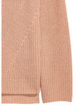 Double-knitted jumper - Beige - Ladies | H&M CN 3