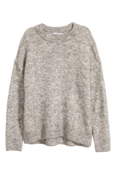 Pullover in misto mohair - Grigio - DONNA | H&M IT