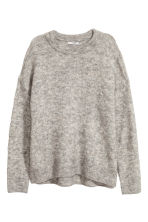 Mohair-blend jumper - Grey - Ladies | H&M 2