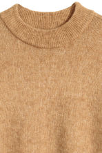 Mohair-blend jumper - Camel - Ladies | H&M CN 3