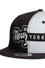 Cap with appliqués - Black/New York - Kids | H&M CN 3
