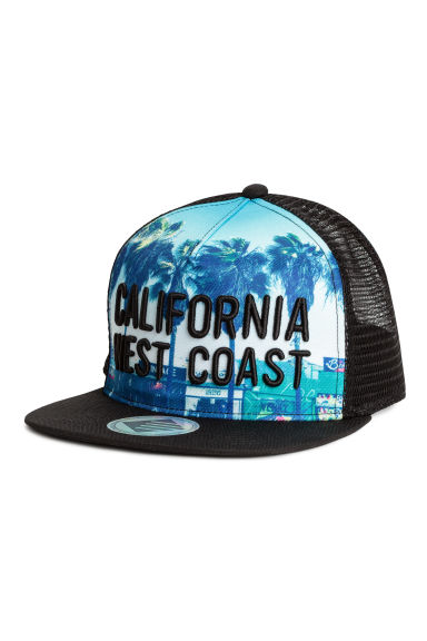 Cap with appliqués - Black/California - Kids | H&M 1