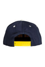Cap with appliqués - Dark Blue/New York - Kids | H&M CA 2