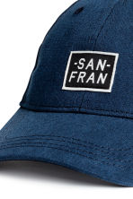 Cotton cap - Dark blue - Kids | H&M CN 3