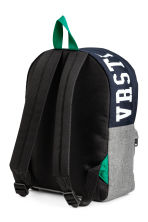 Backpack - Dark blue/Grey - Kids | H&M CN 2