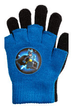 Gloves/fingerless gloves - Blue/Batman -  | H&M CN 3