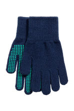 2-pack gloves - Dark blue/Grey -  | H&M CN 2