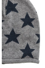Cotton-blend hats - Dark grey/Stars - Kids | H&M 2