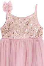 Abito in tulle con paillettes - Rosa antico -  | H&M IT 3