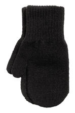 3-pack mittens - Black/Striped - Kids | H&M 2