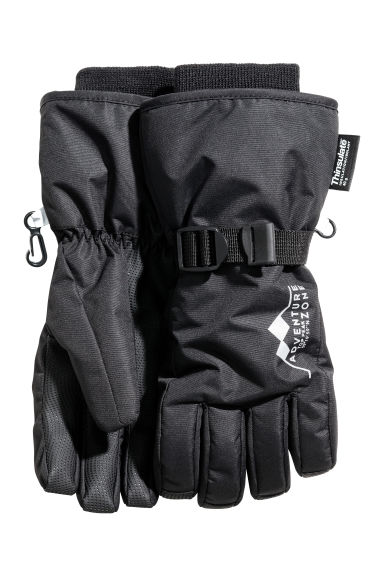 Ski gloves - Black -  | H&M
