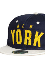 Twill cap - Dark Blue/New York - Kids | H&M CN 3