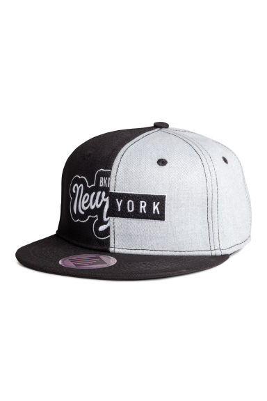 Twill cap - Black/New York - Kids | H&M CA 1