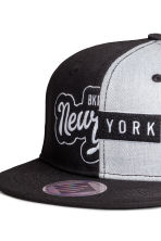 Twill cap - Black/New York - Kids | H&M CA 2